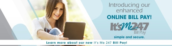 It's Me 247 Online Bill Pay banner