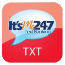 It's Me 24/7 Text Banking Image